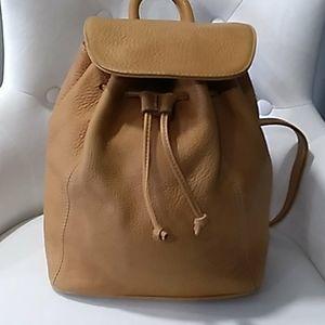 Vtg coach tan backpack